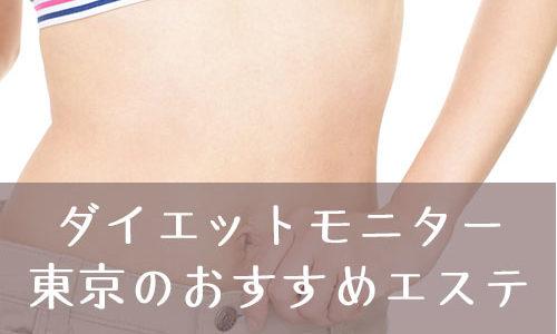 【全国版もアリ】無料のダイエットモニターで気を付けることは?東京で募集しているエステはココ!!